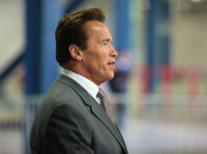 Schwarzenegger and the government watchdog group Common Cause are now teaming up to try to overhaul how political maps are drawn in several other large states.