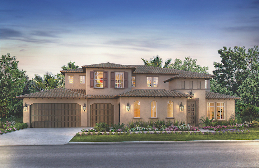 Rendering of the Estates at Canyon Grove in Escondido