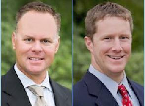 Jason Jones, left, and Luke Ellingwood