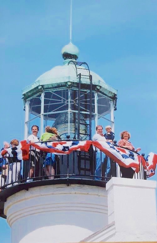 The top of the tower is only open three days a year; March 22, Aug. 25 and Nov. 15.