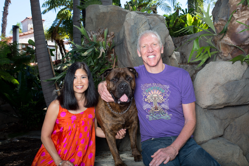 Lori and Bill Walton. (Photo by Taylor Hanson)