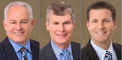 Jim Neil, Eric Comer and Merrick Matricardi