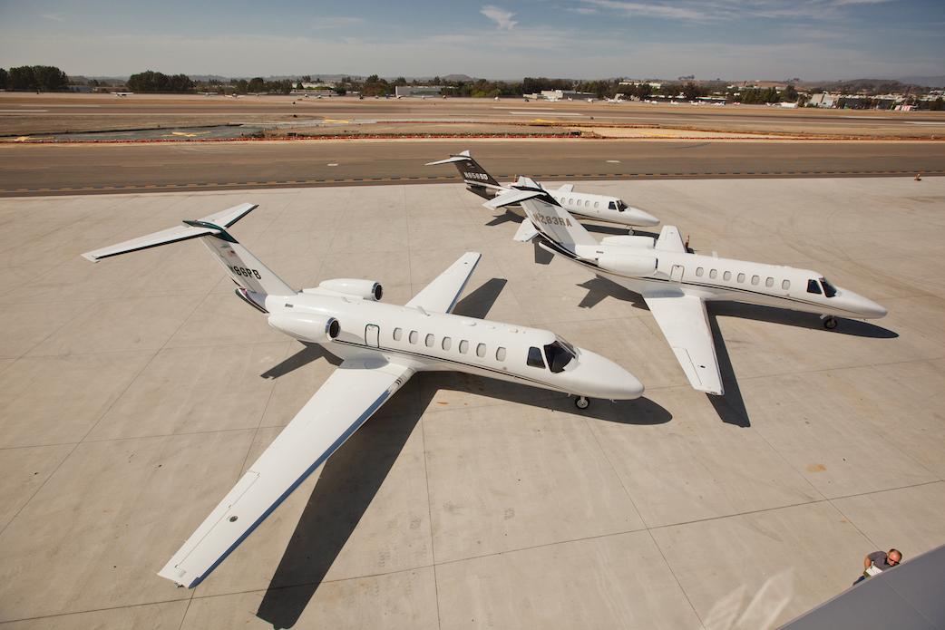 Aircraft from Latitude 33 Aviation's fleet.