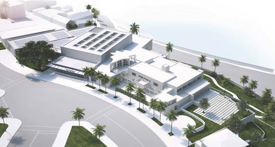 Rendering of the expanded Museum of Contemporary Art San Diego. (Courtesy of Selldorf Architects)