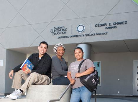 The Cesar E. Chavez campus of San Diego Continuing Education.