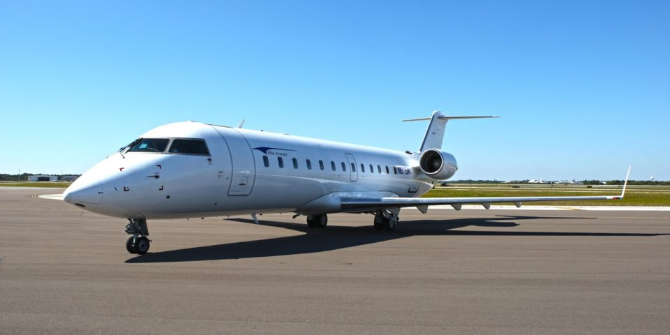 Cal Jet by Elite Airways plans to operate a single Bombardier CRJ700 jet, which has 64 seats