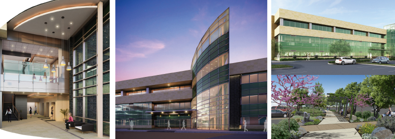 Palomar Health Outpatient Center I renderings