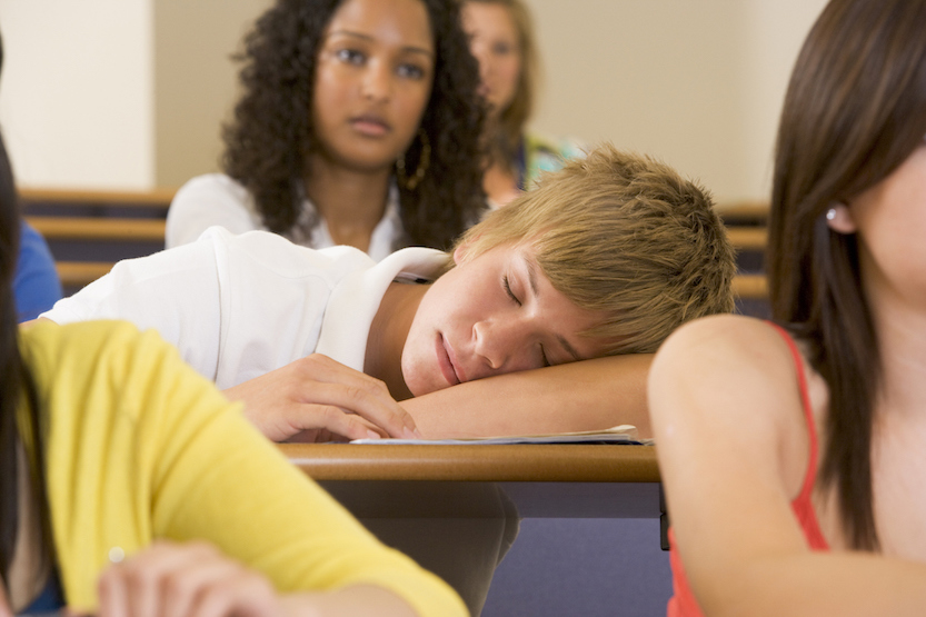 Research shows two-thirds of adolescents aren't getting enough sleep and that the consequences are far-reaching.