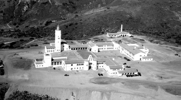 SDSU atop Montezuma Mesa in 1931. (Credit: SDSU Special Collections)