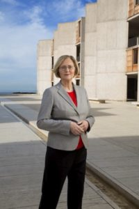 Blackburn has led Salk since January 2016 as its first female president.