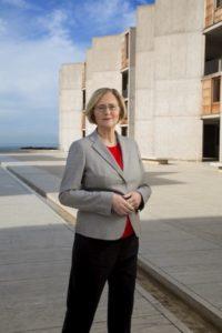 Blackburn has led Salk since January 2016 as its first female president.