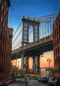 Manhattan Bridge by Gregory Berg