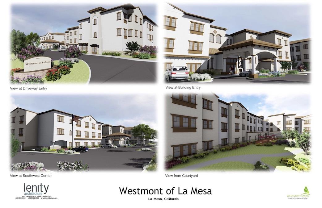 Renderings of Briercrest of La Mesa