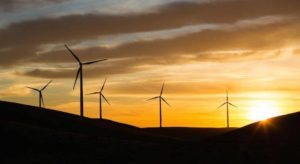Windmills. Economists expect energy costs to drop as California uses more renewable sources. (Photo by Carl Costa for CALmatters)