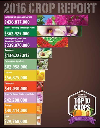 Top 10 crops of 2016