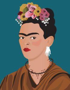 Painting: 'Los Colores de Frida' by Ada Herrera
