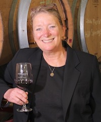 Linda McWilliams, president of the San Diego County Vintners Association.