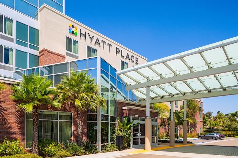 The 150-room Hyatt Place hotel