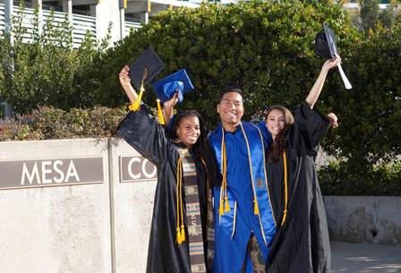 In May 2018, San Diego Mesa College health information management students will be among the first community college students in California to earn bachelor's degrees as part of the state's baccalaureate pilot program.