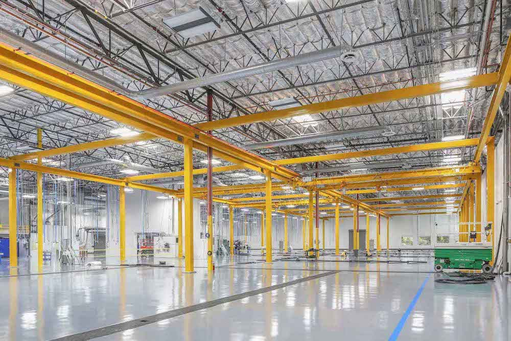 The General Atomics A21 project included a new 10,000 square-foot building, improvements to an existing 78,000 square-foot space and more.