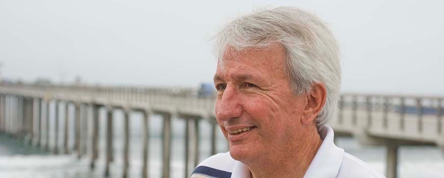 Scripps Oceanographer Dean Roemmich (Photo: Scripps Institution of Oceanography)