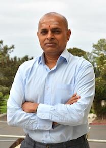 Ramanarayanan Krishnamurthy, associate professor of chemistry at TSRI and senior author of the new study.