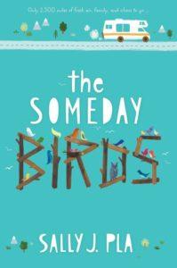 Book cover, 'The Someday Birds'