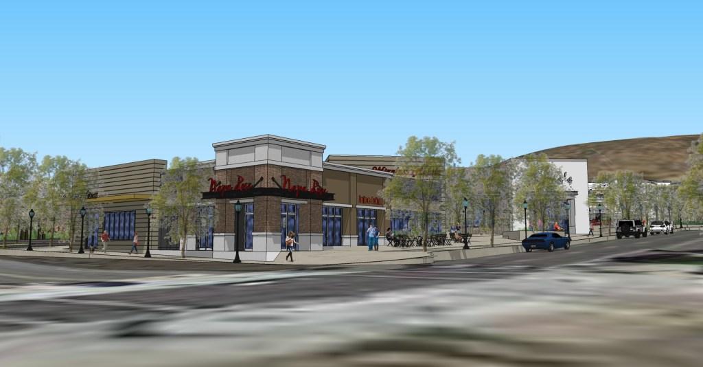 San Elijo Hills Town Center rendering