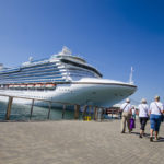 Princes Cruises' Crown Princess docked at the Embarcadero on a past visit. (Photo: Port of San Diego)