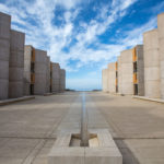 Salk Institute courtyard. (Photo courtesy of Salk Institute for Biological Studies)